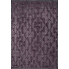 Fables Gray/Purple Geometric Rug