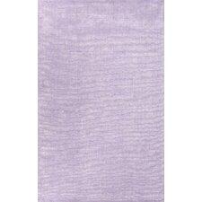 Konstrukt Purple Solid Rug