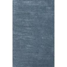Konstrukt Blue Solid Rug