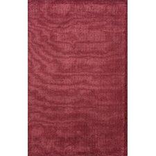 Konstrukt Red Solid Rug