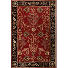 <strong>Jaipur Rugs</strong> Poeme Red/Black Arts and Craft Rug