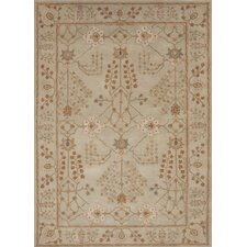 <strong>Jaipur Rugs</strong> Poeme Gray/Red Arts and Craft Rug