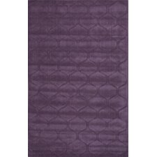 Metro Purple Solid Rug
