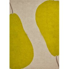 Grant Au Pear Beige & Green Indoor/Outdoor Area Rug