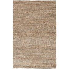 Himalaya Taupe/Brown Solid Area Rug