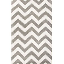 Traverse Gray Geometric Area Rug