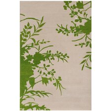 Blue Larkspur Area Rug
