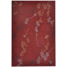 Brio New Leaf Deep Rust Rug