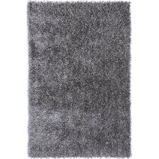 Flux Cool Gray Shag Rug