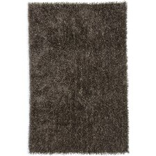Flux Taupe Shag Area Rug
