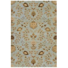 Poeme Lourdes Soft Mint Rug