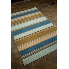 Dhurries Aqua Sky Rug