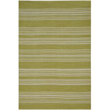 Pura Vida Lime Green Area Rug