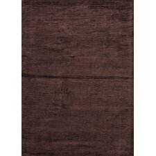 Basis Medium Espresso Solid Rug