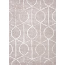 City Classic Gray Geometric Rug