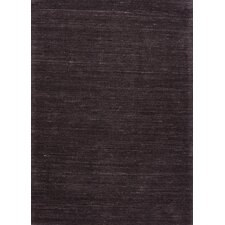 Elements Black Solid Rug