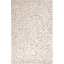 Fables Cream Abstract Rug