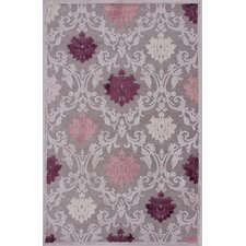 Fables Pink & Purple Floral Area Rug