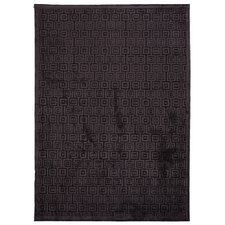 Fables Gray/Black Geometric Rug