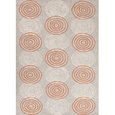 Grant Design I-O Ivory/White Solid Indoor/Outdoor Rug