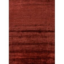 Lustre Red/Orange Solid Rug