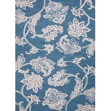 <strong>Jaipur Rugs</strong> Midtown By Raymond Waites Blue Floral Rug
