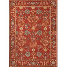Poeme Coral Arts/Crafts Rug