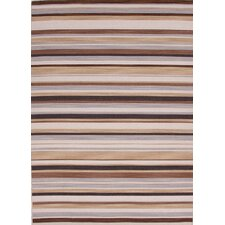Pura Vida Black Berry Stripe Rug