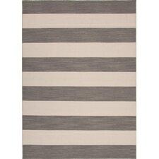 Pura Vida Gray Stripe Rug