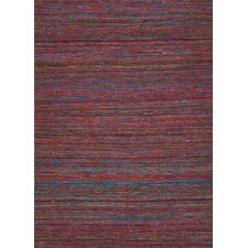 Spice Mars Red Solid Rug
