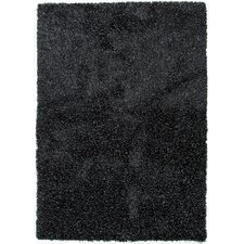 Tribeca Black Solid Rug