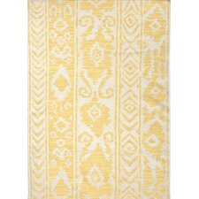 Urban Bungalow Yellow Tribal Rug