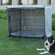 Corner Pin Dog Crate Cover and Pad Set