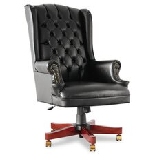 Traditional Series High-Back Wing Back Swivel / Tilt Office Chair