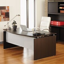 SedinaAG Series Bow Front Executive Desk Shell