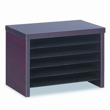 Valencia Series Under-Counter File Organizer Shelf, 16w x 10d x 11h, Mahogany