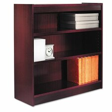 Three-Shelve Square Corner Bookcase