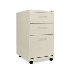"19.75"" Three-Drawer Mobile Pedestal File"