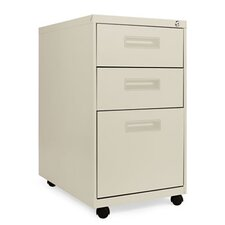 "23.25"" Three-Drawer Mobile Pedestal File"