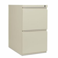 "23"" Two-Drawer Mobile Pedestal File with Full-Length Pull"