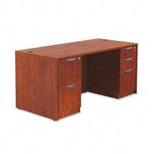 """Valencia Series 66"""" Executive Desk Shell"""
