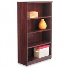 Valencia Series Four-shelf Bookcase and Storage Cabinet