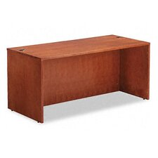 "<strong>Alera®</strong> Verona Veneer Series 66"" Straight Front Executive Desk Shell"