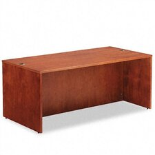 "Verona Veneer Series 72"" Straight Front Executive Desk Shell"