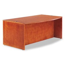 Verona Series Bow Front Executive Desk Shell