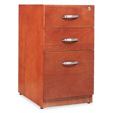 <strong>Alera®</strong> Verona Veneer Series Three-Drawer Pedestal File