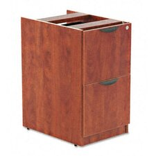 Valencia Series 2-File Drawer Full Pedestal