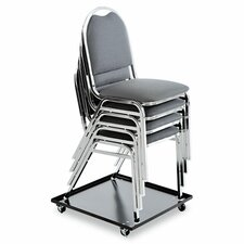 <strong>Alera®</strong> Stacking Chair Dolly in Black