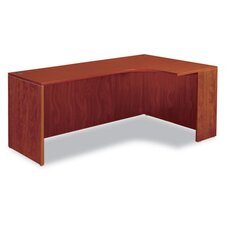 "Valencia Series 71"" Credenza with Right Corner Extension"