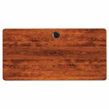 <strong>Alera®</strong> Valencia Series Rectangular Table Top in Medium Cherry